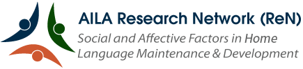"AILA Research Network (ReN) ""Social and Affective Factors in Home Language Maintenance & Development"""